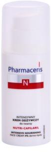 Pharmaceris N-Neocapillaries Nutri-Capilaril поживний заспокоюючий крем для чутливої шкіри схильної до почервонінь з бамбуковою олійкою