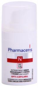 Pharmaceris N-Neocapillaries Opti-Capilaril odmładzający krem pod oczy przeciw obrzękom i cieniom