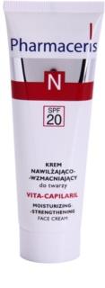 Pharmaceris N-Neocapillaries Vita-Capilaril Crema de fata pentru hidratare si fermitate pentru piele sensibila cu tendinte de inrosire