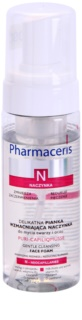 Pharmaceris N-Neocapillaries Puri-Capiliqmousse Cleansing Make - Up Remover Foam to Widespread and Bursting Veins
