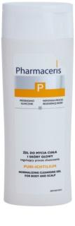 Pharmaceris P-Psoriasis Puri-Ichtilium żel do mycia ciała i skóry głowy dotkniętej zmianami łuszczycowymi.
