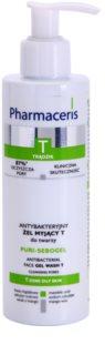 Pharmaceris T-Zone Oily Skin Puri-Sebogel oczyszczający żel antybakteryjny do skóry z problemami