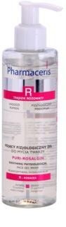 Pharmaceris R-Rosacea Puri-Rosalgin Kalmerende Reinigingsgel  voor Gevoelige Huid met Neiging tot Roodheid