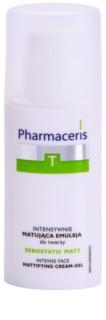 Pharmaceris T-Zone Oily Skin Sebostatic Matt Matterende Emulsie  voor Vette Huid met Acne Neiging