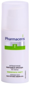 Pharmaceris T-Zone Oily Skin Sebostatic Matt Mattifying Emulsion For Oily Acne - Prone Skin