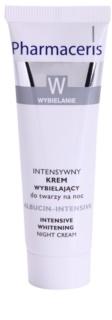 Pharmaceris W-Whitening Albucin-Intesive crema de noapte intensiva pete pigmentate