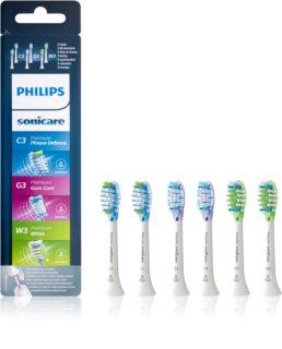 Philips Sonicare Premium  HX9076/07  testine di ricambio per spazzolino 6 pz