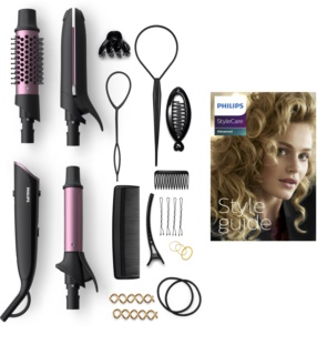 Philips StyleCare Advanced BHH822/00 Hair Straightener And Curling Iron 2 In 1