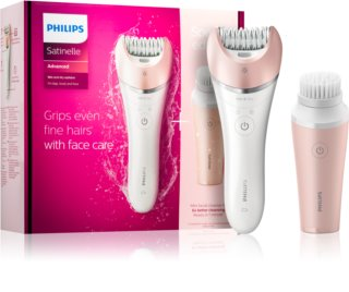 Philips Satinelle Wet & Dry BRP545/00 Epilator with Cleansing Brush