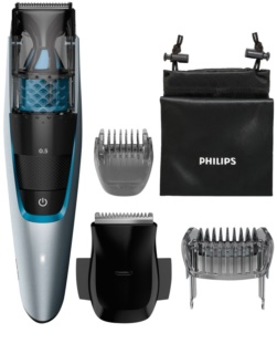 Philips Beardtrimmer Series 7000 BT7210/15 cortabarbas con sistema de aspiración