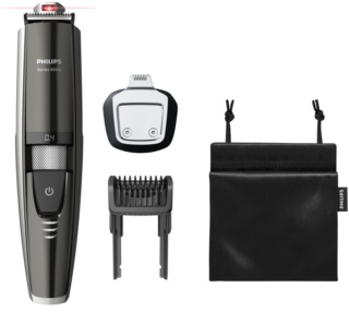 Philips Beardtrimmer Series 9000 BT9297/15 Waterbestendig Baard Trimmer met Laser