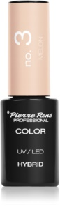 Pierre René Nails Hybrid Gel Nail Polish for UV/LED Hardening