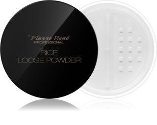 Pierre René Rice Loose Powder transparentni puder z mat učinkom
