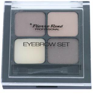 Pierre René Eyes Eyebrow paleta za ličenje obrvi