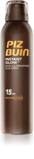 Piz Buin Instant Glow Brightening Sunscreen Spray SPF15