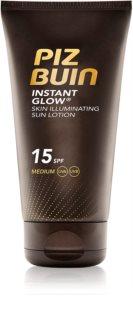 Piz Buin Instant Glow слънцезащитен озаряващ крем SPF 15