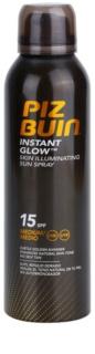 Piz Buin Instant Glow rozjasňující sprej na opalování SPF 15