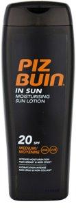 Piz Buin In Sun hydratační krém na opalování SPF 20