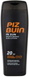 Piz Buin In Sun feuchtigkeitsspendende Creme zum bräunen SPF 20