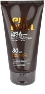 Piz Buin Tan & Protect lait protecteur accélérateur de bronzage SPF30