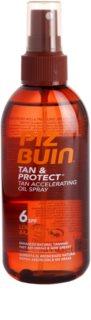 Piz Buin Tan & Protect ochranný olej urýchľujúci opálenie SPF 6