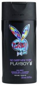 Playboy No Sleep New York żel pod prysznic dla mężczyzn 250 ml