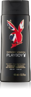Playboy London gel de duche para homens 400 ml