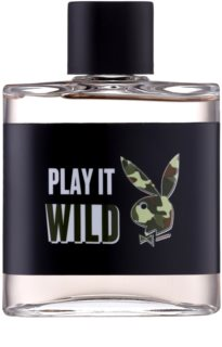 Playboy Play it Wild Aftershave lotion  voor Mannen 100 ml