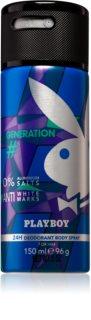 Playboy Generation дезодорант-спрей для чоловіків 150 мл