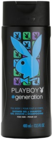 Playboy Generation gel de duche para homens 400 ml