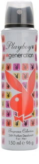 Playboy Generation Deo-Spray für Damen 150 ml
