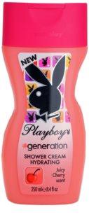 Playboy Generation krema za tuširanje za žene 250 ml