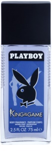 Playboy King Of The Game deodorant spray pentru bărbați 75 ml