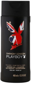 Playboy London gel de duche para homens 400 ml
