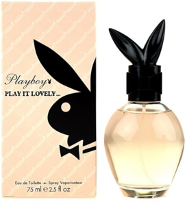 Playboy Play It Lovely Eau de Toilette pentru femei 75 ml