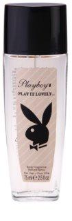 Playboy Play It Lovely deodorant s rozprašovačem pro ženy 75 ml