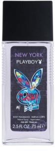 Playboy New York Deo mit Zerstäuber für Herren 75 ml