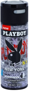 Playboy New York desodorante en spray para hombre 150 ml