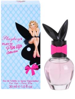 Playboy Play It Pin Up Eau de Toilette voor Vrouwen  30 ml
