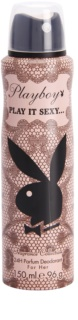 Playboy Play It Sexy deospray pro ženy 150 ml