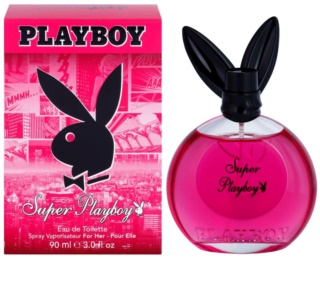 Playboy Super Playboy for Her Eau de Toilette voor Vrouwen  90 ml