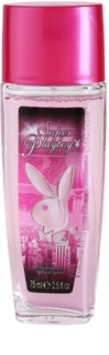 Playboy Super Playboy for Her deodorante con diffusore per donna 75 ml