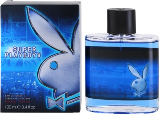 Playboy Super Playboy for Him Eau de Toilette para homens 100 ml