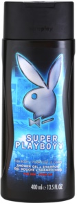 Playboy Super Playboy for Him gel de duche para homens 400 ml