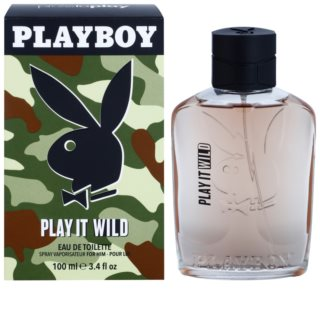 Playboy Play it Wild Eau de Toilette für Herren 100 ml