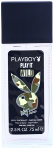 Playboy Play it Wild Deo met verstuiver voor Mannen 75 ml