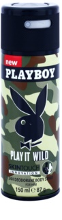 Playboy Play it Wild deodorant Spray para homens 150 ml