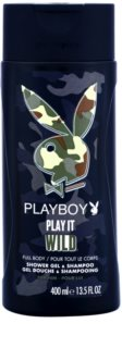 Playboy Play it Wild Douchegel voor Mannen 400 ml
