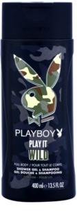 Playboy Play it Wild Duschgel für Herren 400 ml