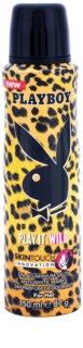 Playboy Play it Wild deospray pro ženy